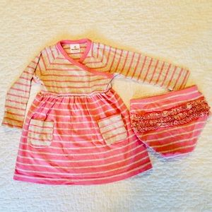 Hanna Andersson play dress size 80 18-24 months